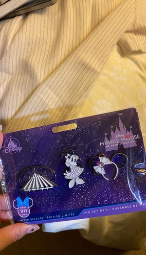 Minnie Mouse Main Attraction January Space Mountain Pins for Sale in West Covina, CA