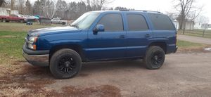2001 cat eye swapped Chevy tahoe for Sale in Ogilvie, MN