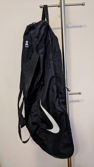 NIKE Tennis Racquet Sports Bag Duffle Black Large Swoosh for Sale in Plano, TX