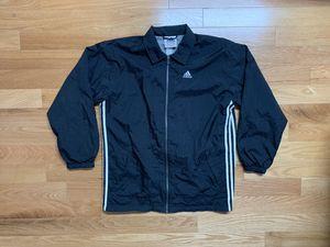 Vtg 90s Adidas Full Zip Windbreaker Coach Jacket for Sale in Boston, MA