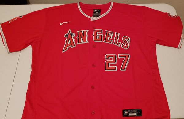 Red Nike Angels Jerseys