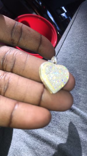 Real 925 silver Heart Charm!!! for Sale in Detroit, MI