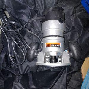 Drill Master Trim Router for Sale in Peoria, IL