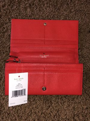 New Kate Spade red wallet for Sale in Houston, TX