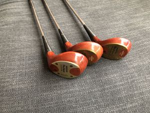 Macgregor Persimmon Wood golf clubs for Sale in Chelan, WA