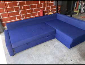 IKEA sectional sofa and pull out bed for Sale in Lake Worth, FL