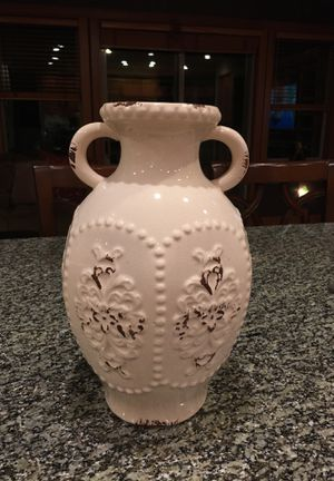 "14"" Italian ceramic vase for Sale in Seattle, WA"