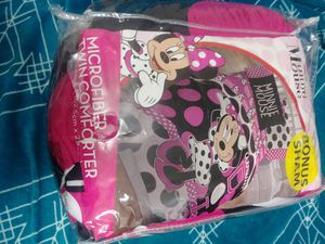 Minnie mouse twin bedset for Sale in Portland, OR