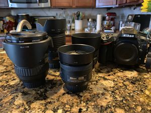 Nikon D7100 + 4 lenses bundle ($2.3k+ value) **SAMPLE PHOTOS** for Sale in South San Francisco, CA