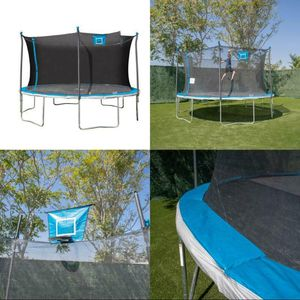 Bounce Pro 14ft Trampoline and Enclosure with Basketball Hoop for Sale in Sacramento, CA