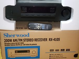 Stereo System. Sherwood Receiver new for Sale in Apex, NC