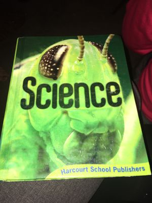 Harcourt science grade 6 textbook for Sale in Highland, CA