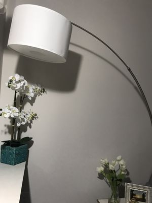 White Marble Adjustable Lamp for Sale in Houston, TX