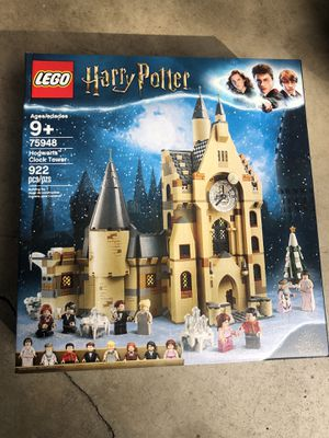 New Harry Potter Lego 922 piece Set Clock Tower Yule Ball 79548 for Sale in Portland, OR