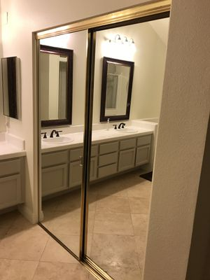 "Mirrored Closet Doors 78"" x 30.5"" (no track included) for Sale in Rancho Santa Margarita, CA"