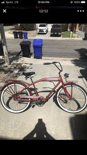 New Belgium Fat Tire Felt Beach Cruiser Bicycle 2008 Limited 1st Edition for Sale in Upland, CA