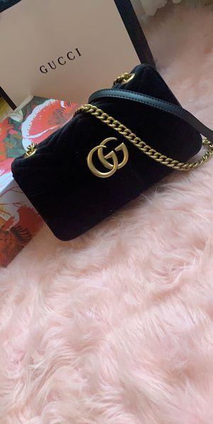 Gucci Marmont velvet shoulder bag for Sale in Los Angeles, CA