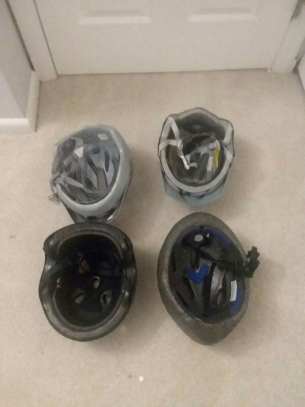 4 Bike Helmets