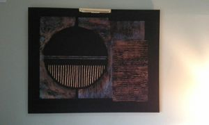 Large Oil Painting with Art Light for Sale in Alexandria, VA