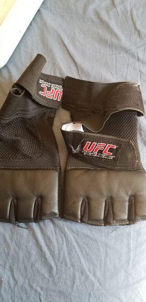 UFC fingerless padded gloves for Sale in Victorville, CA