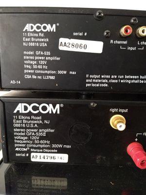 ADCOM gfa 535 and gfa 535ii for Sale in Santa Ana, CA