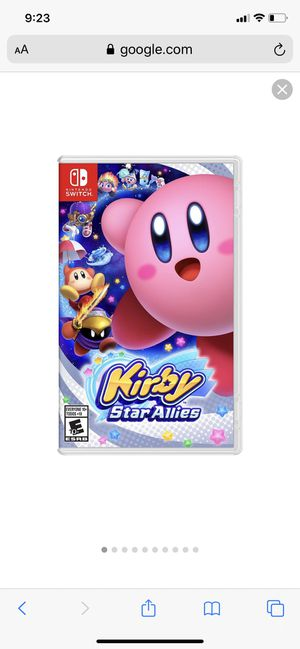Kirby star allies for Nintendo switch physical copy for Sale in Chicago, IL