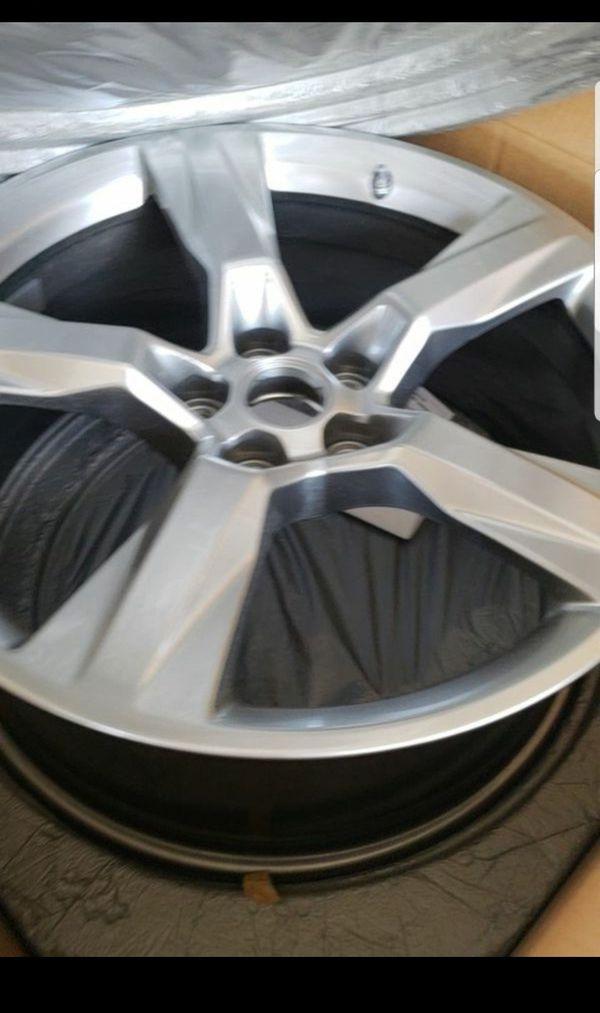 20 Inch Chevy Camaro Wheels