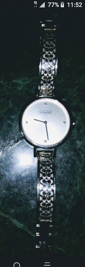 Women's Coach watch with diamond chips for Sale in The Bronx, NY