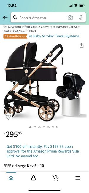 Baby Stroller Set Portable Anti-Shock Luxury for Newborn Infant Cradle Convert to Bassinet Car SeatVisit the B.Childhood Store 2.0 out of 5 stars 1 for Sale in Fontana, CA