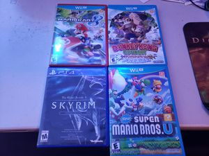 Playstation 4 PS4 and nintendo wii U video games for Sale in Arlington, TX