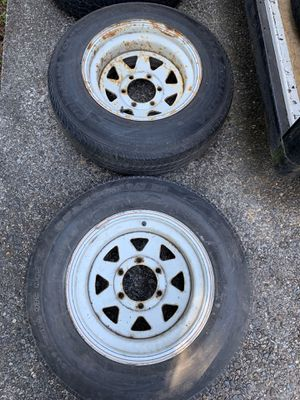 Wheels and tires 6 lug and 5 lug wheels trailer wheels for Sale in Kent, WA