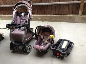 travel system Stroller&car seat for Sale in Santa Monica, CA