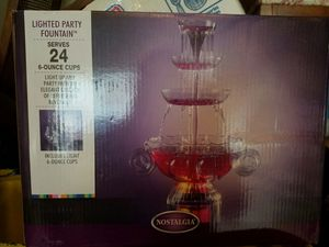 Lighted party fountain for Sale in Manassas, VA