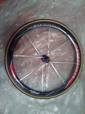 Bontrager Race Lite Aero OCLV Carbon Tubular Rear Wheel for Sale in undefined
