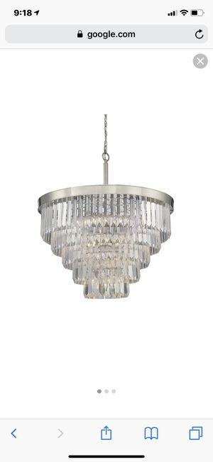 Like new chandelier (orig. $1200) for Sale in Lakewood, CO