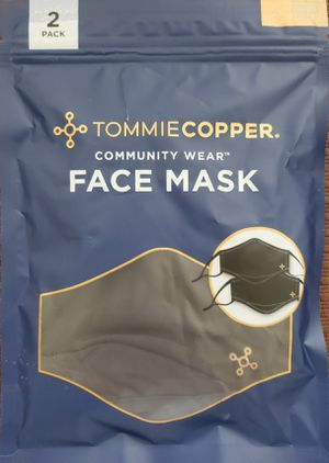 2 Pack Authentic Genuine Tommie Copper Community Wear Face Copper Mask (2-Pack) Tommy for Sale in Spring Hill, FL