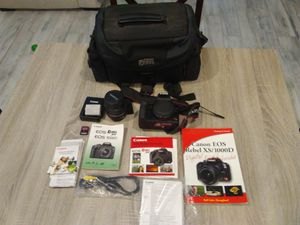 Canon EOS Rebel XS 1000D DSLR camera for Sale in Wylie, TX