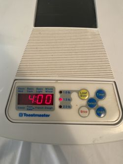 Toastmaster Bread Maker for Sale in Tampa,  FL