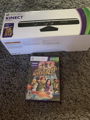 Xbox 360 kinnect camera and game for Sale in Tempe, AZ