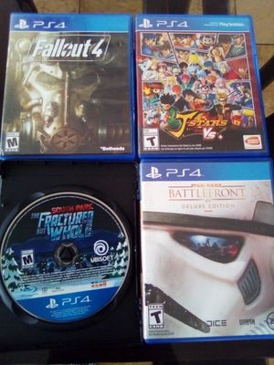 PS4 Games $10 Each Perfect Condition for Sale in Apple Valley, CA