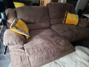 Recliner sofa, reclines on both sides all the way for Sale in Arlington, VA