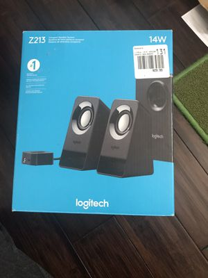 Logitech speakers with subwoofer for Sale in Pflugerville, TX