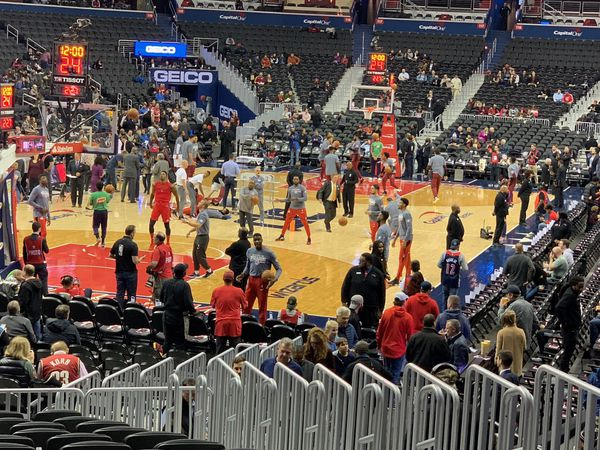 Two Wizards vs Houston tickets Section 118