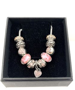 Pink Charm Bracelet (2 for $20) for Sale in Norco,  CA