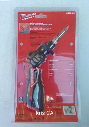 M12 Milwaukee smart soldering iron for Sale in La Puente, CA
