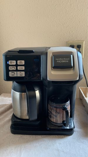 Coffee maker flex brew for Sale in Madera, CA