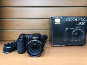 Nikon CoolPix L820 16.0mp Digital Camera with Box for Sale in Boca Raton, FL