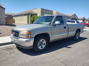 Parts ONLY off 2002 GMC Sierra 1500, 2WD, 4l60e Trans, and more. for Sale in Las Vegas, NV