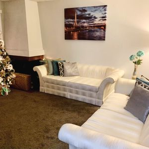 Ivory Couch Set for Sale in Hayward, CA