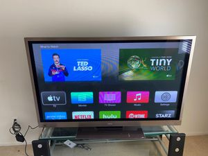 """60"""" plasma TV with stand for Sale in Winchester, CA"""